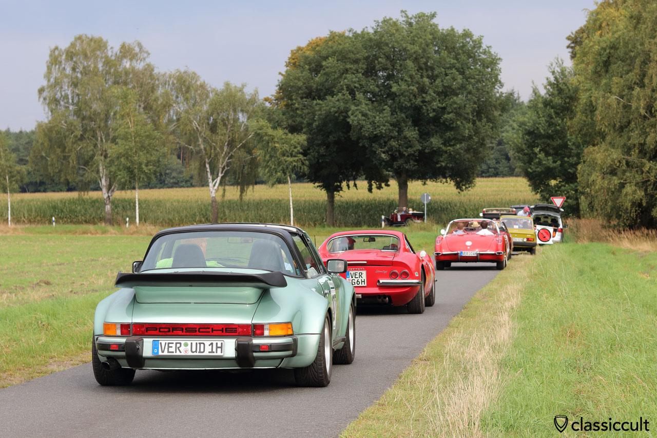 1976 Porsche 911 Targa, XXII. ADAC Oldtimer- und Classic Rallye Verden 2016, 4:39 p.m.