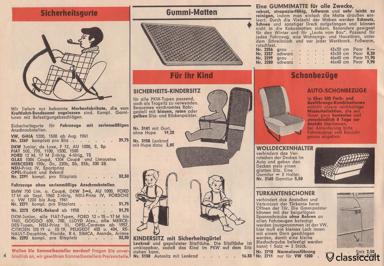child seat, Page 4
