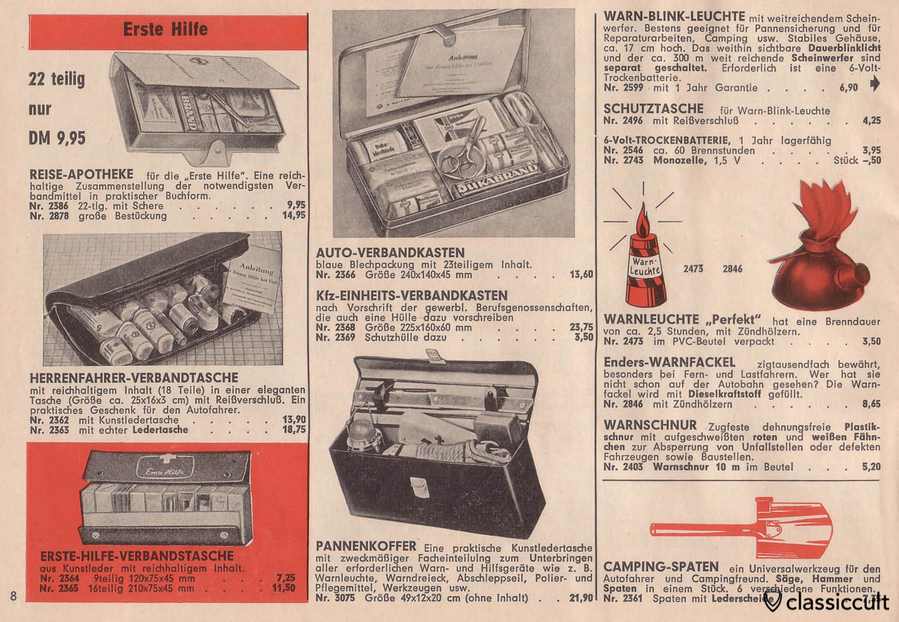 vintage first aid auto box, Page 8