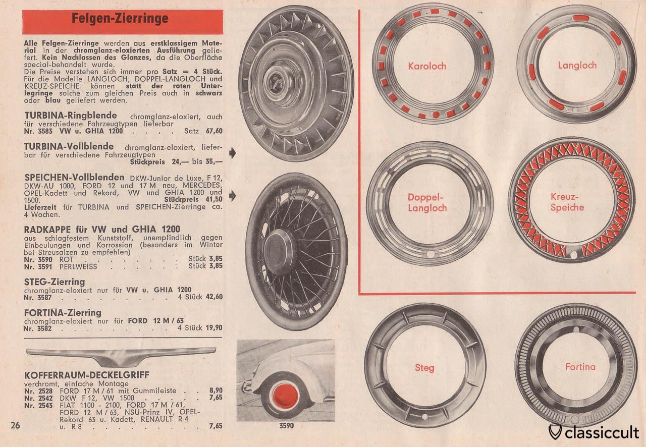 Vintage wheel beauty rings, Page 26