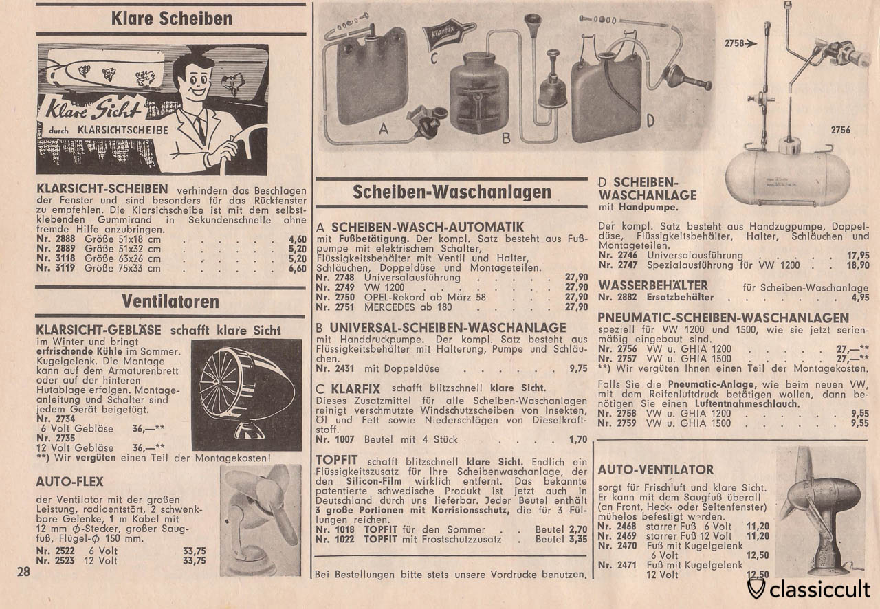 Vintage german windscreen washer, Page 28