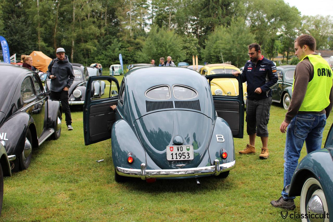VW Zwitter, Oval Beetle with split rear window