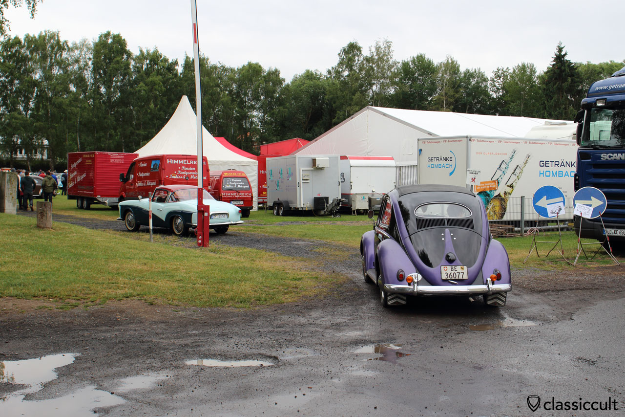 VW Oval from Switzerland and Rometsch Lawrence Coupe