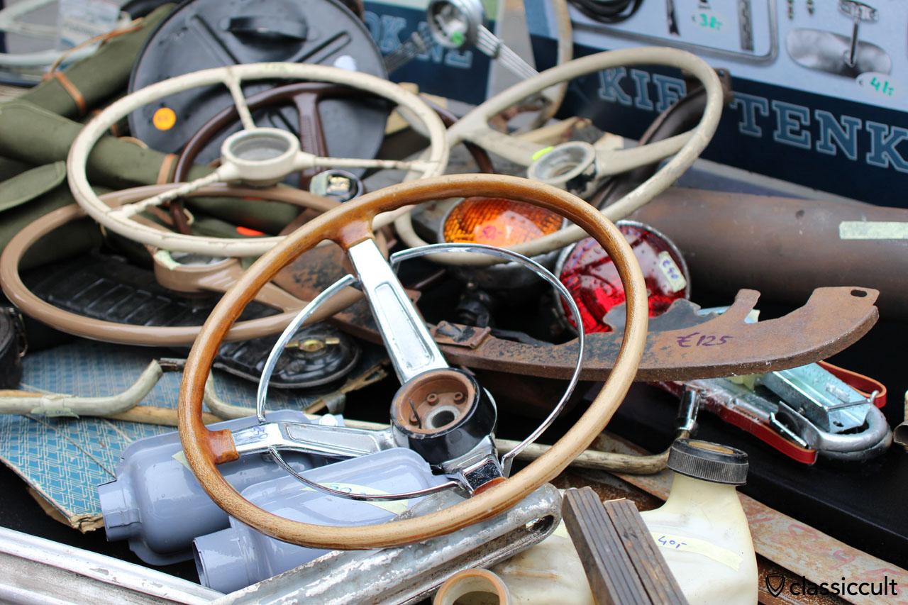 VW Beetle accessories steering wheels