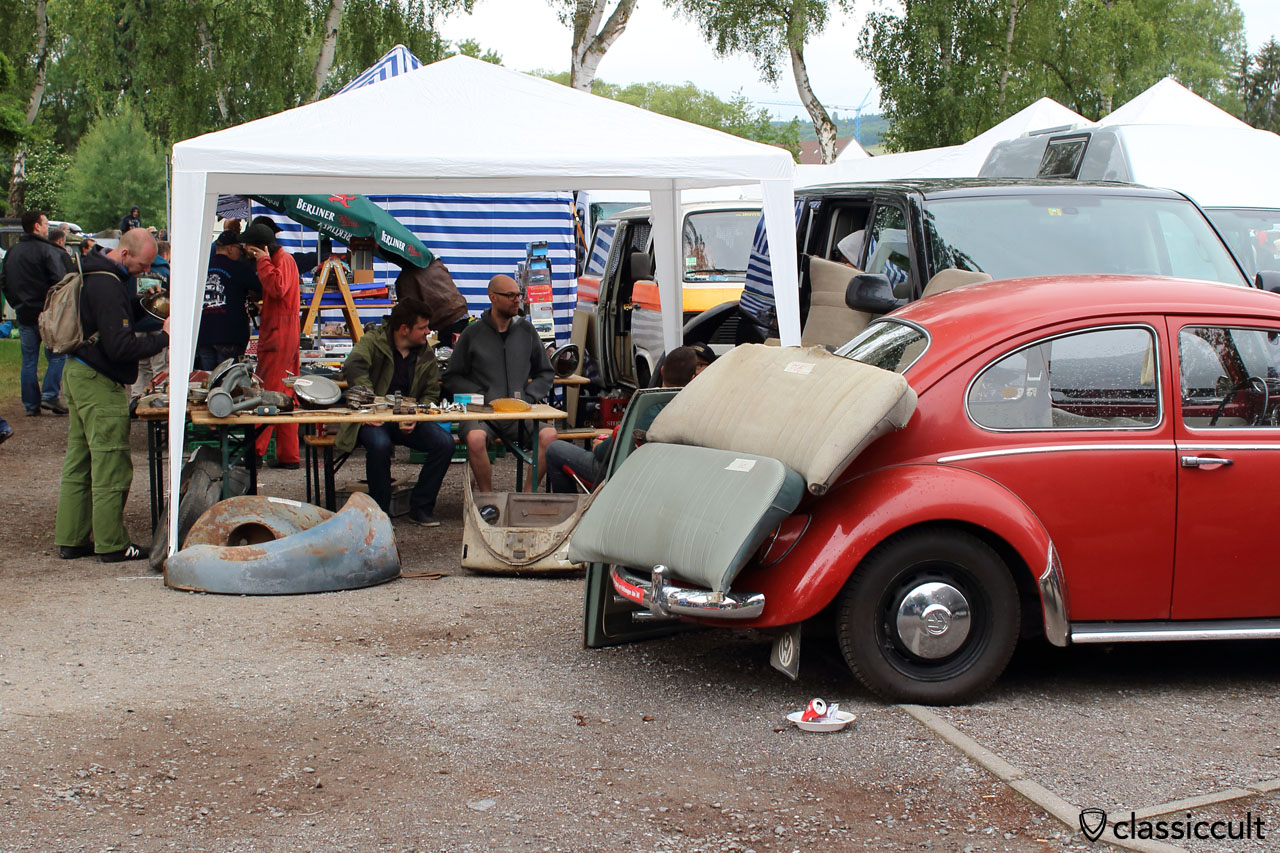 Bad Camberg spare parts market VW Show 2015