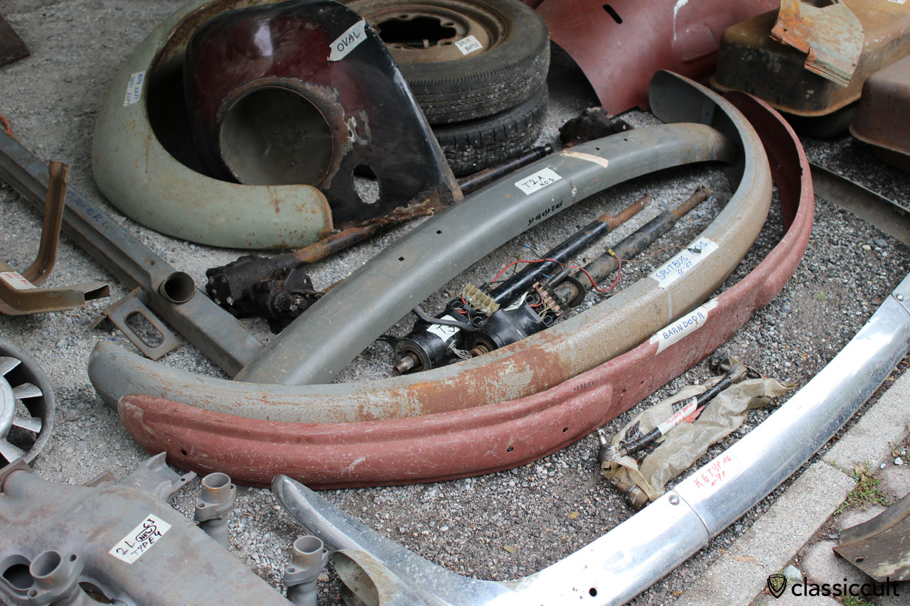 VW Barndoor bumper
