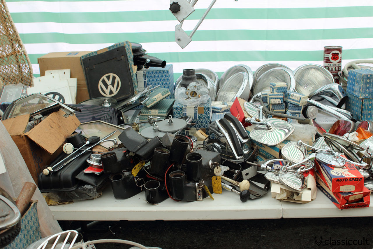 plenty of rare VW accessories