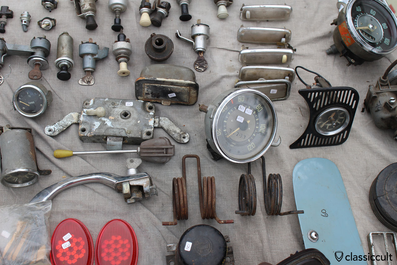 spare parts at Bad Camberg VW Show