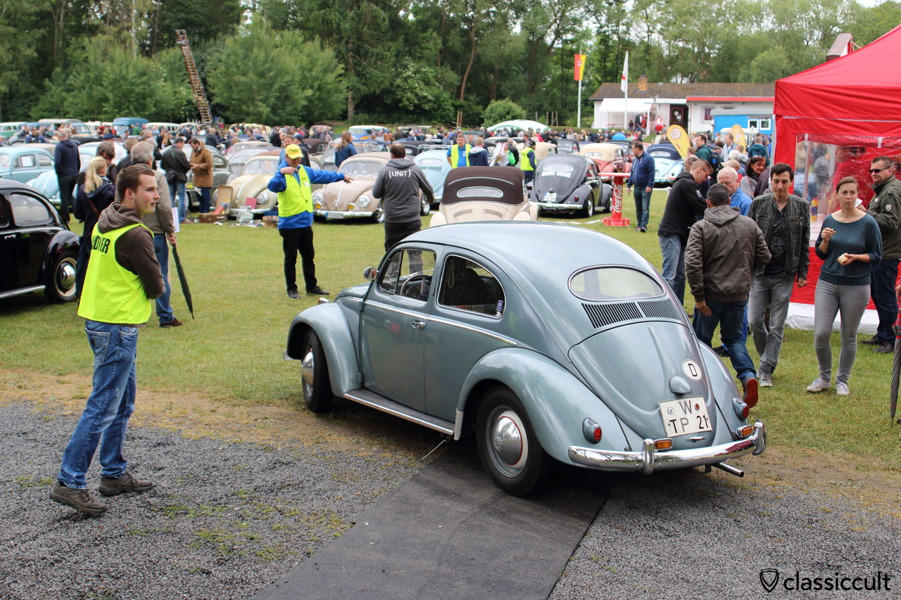 untouched VW Oval from Germany with old number plate