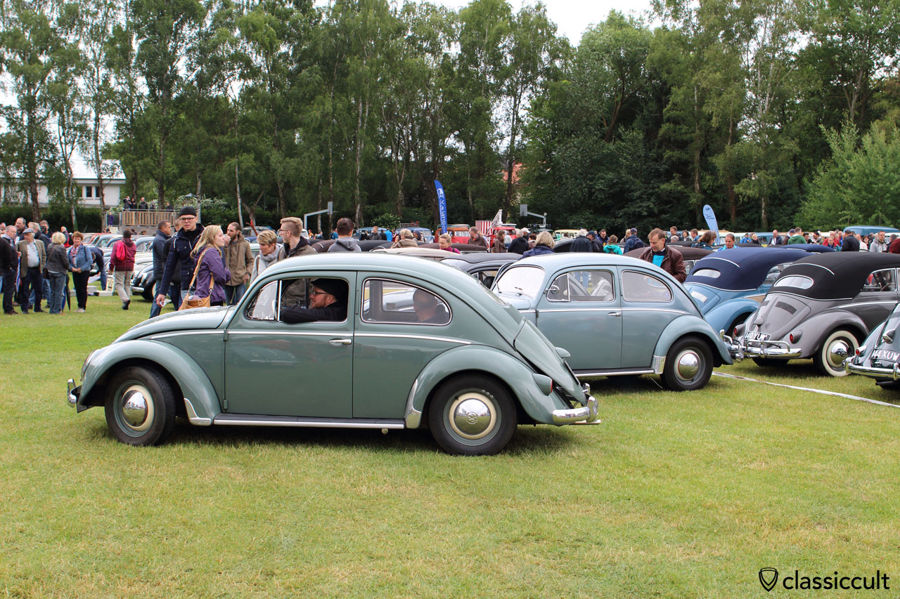 VW Oval Bug, arrived at Bad Camberg Show, 10:48 a.m.