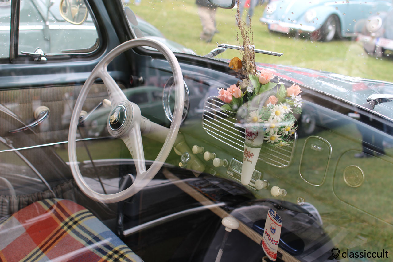 dashboard of untouched VW Oval from Germany