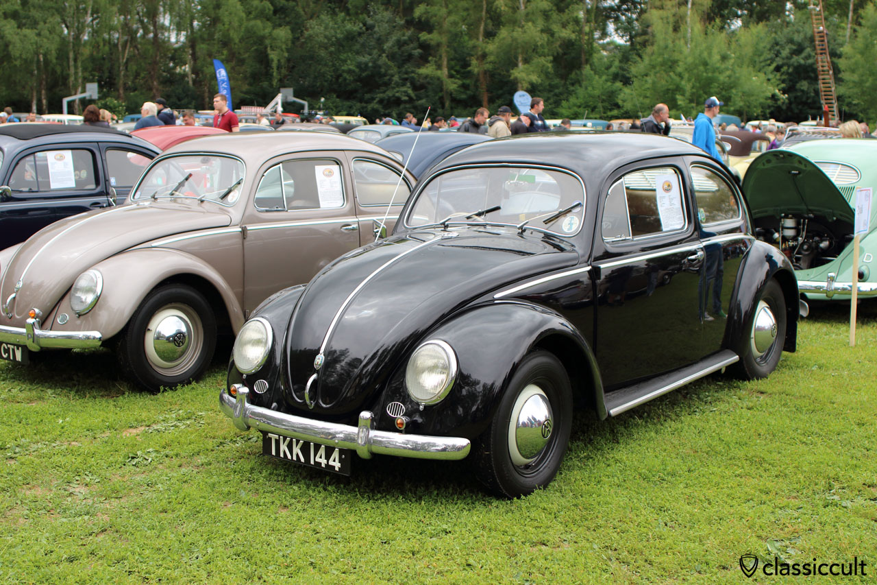 1954 Deluxe Beetle, black, Phil Murgatroyd, Yorkshire, historicvws.org.uk