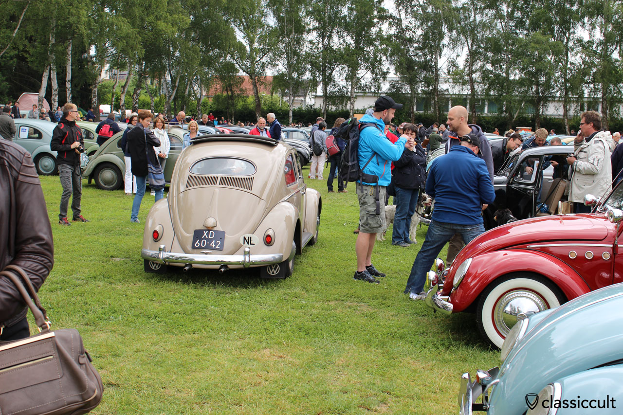 Oval Beetle from NL, Bad Camberg VW Meeting 2015, 11:33 a.m.