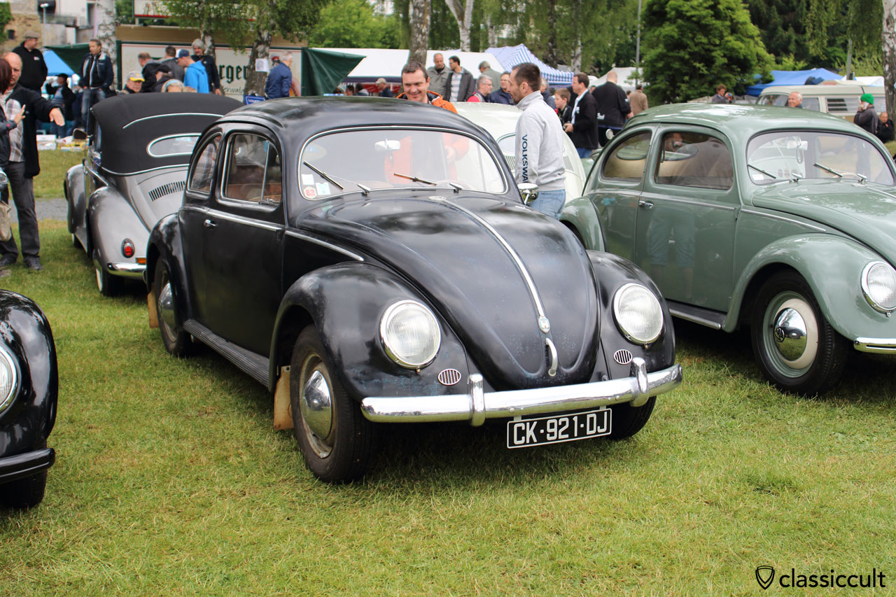 VW Zwitter Beetle with front and rear mud flaps