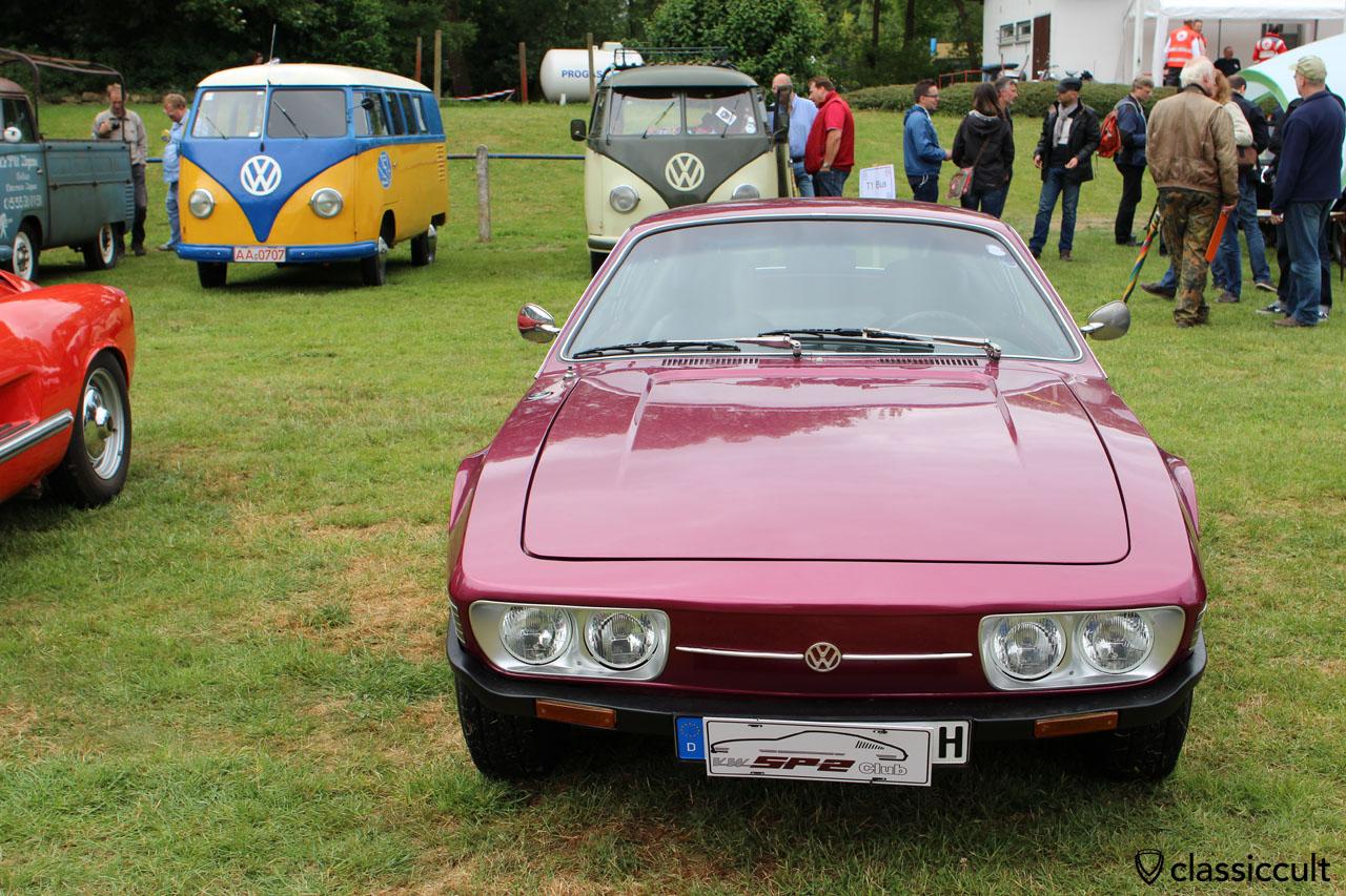 VW SP2, Brazilian market Volkswagen, front view
