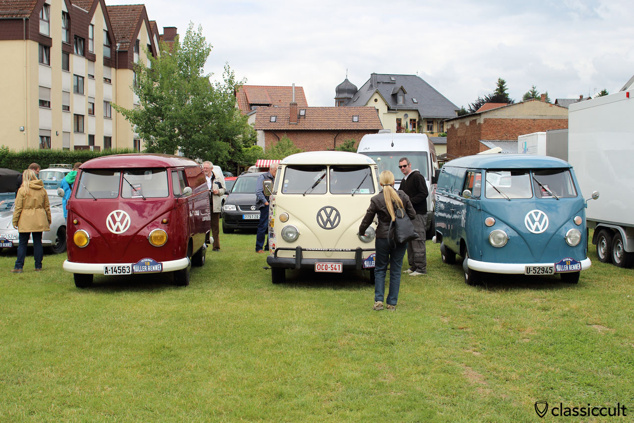 VW Split Bus, Bad Camberg 2015