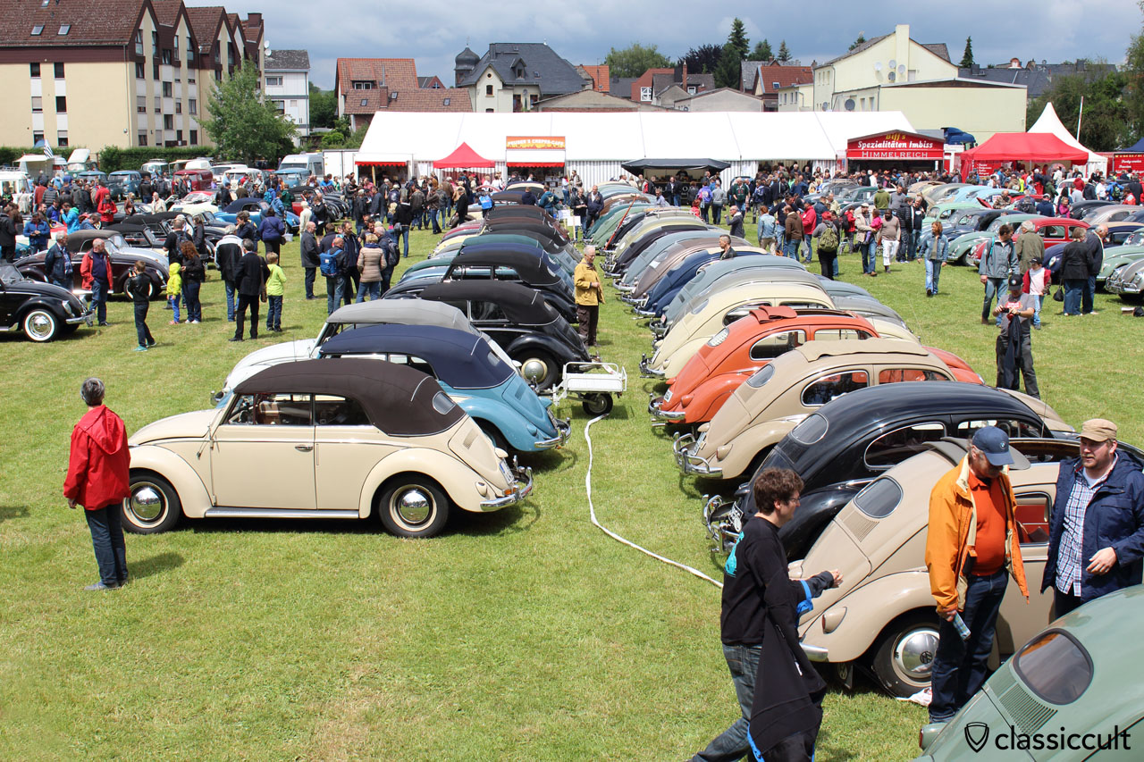 10. Int. Bad Camberger VW Veteranen Treffen 2015