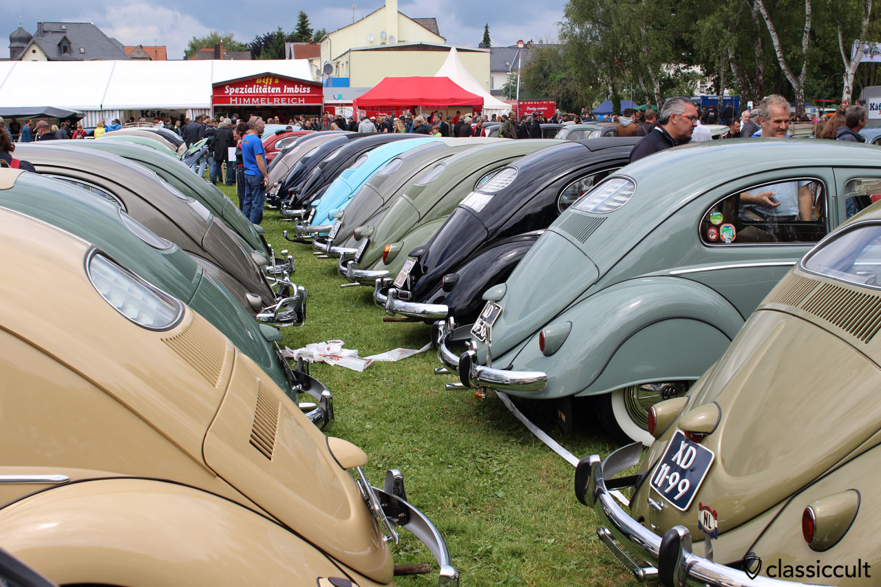 VW Oval Window rear view, Bad Camberg 2015
