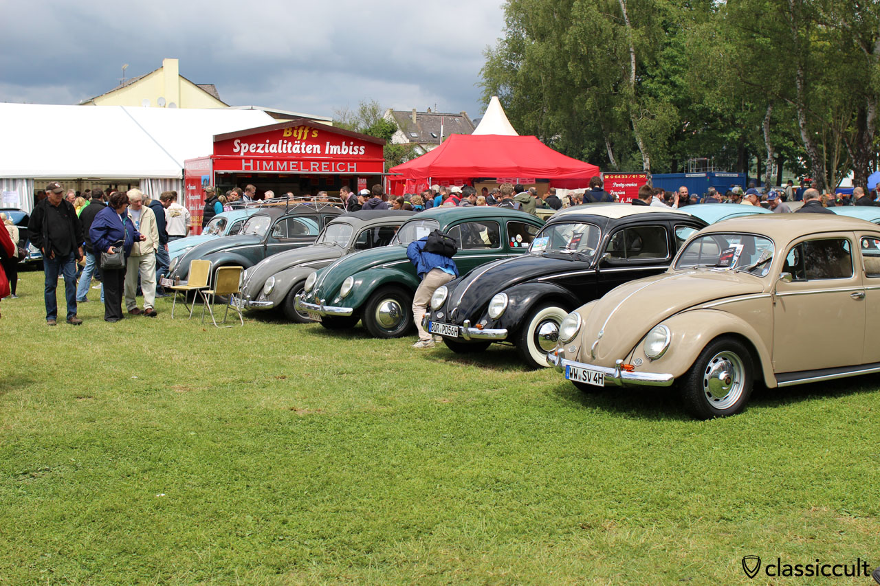 Beetles at VW Show Bad Camberg Germany 2015