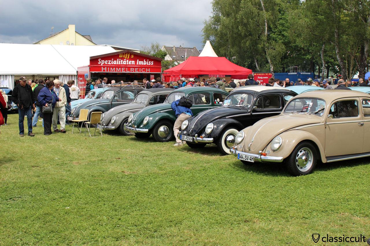 Beetles at VW Show Bad Camberg Germany 2015