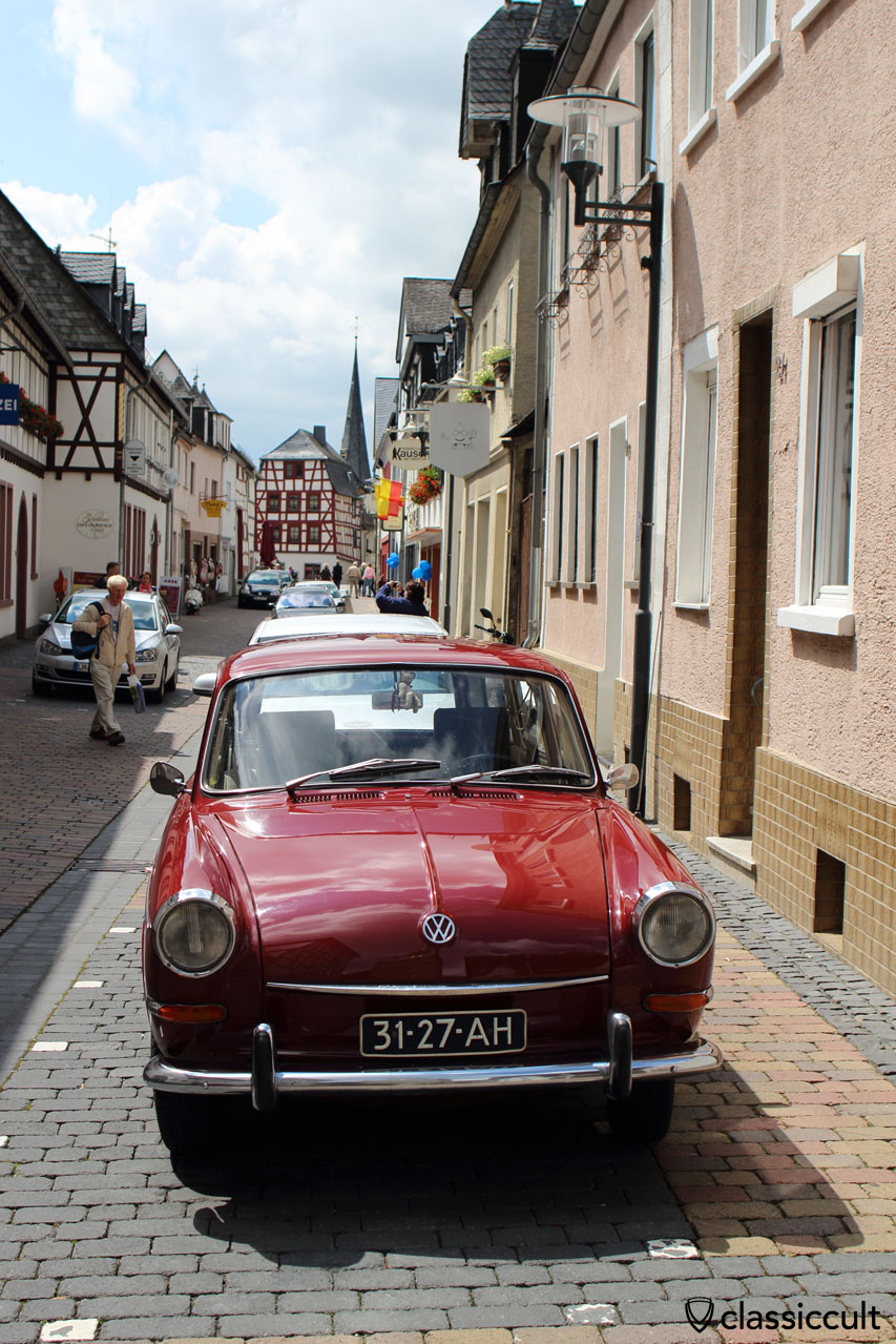 VW Type 3 in Bad Camberg old city