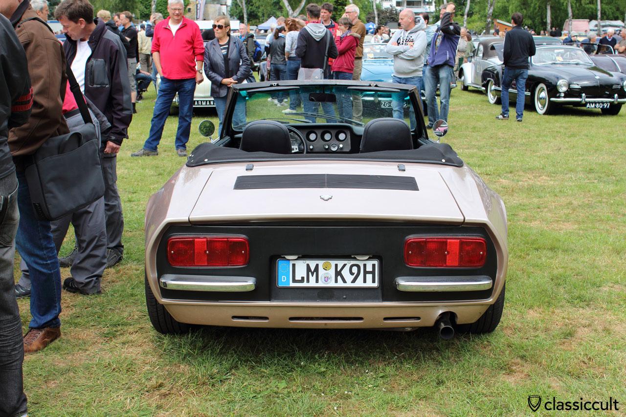 VW Puma GTS Cabrio, rear view