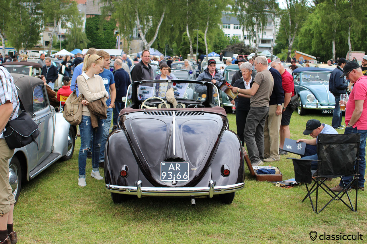 Hebmüller from NL, Bad Camberg vintage VW Meeting 2015