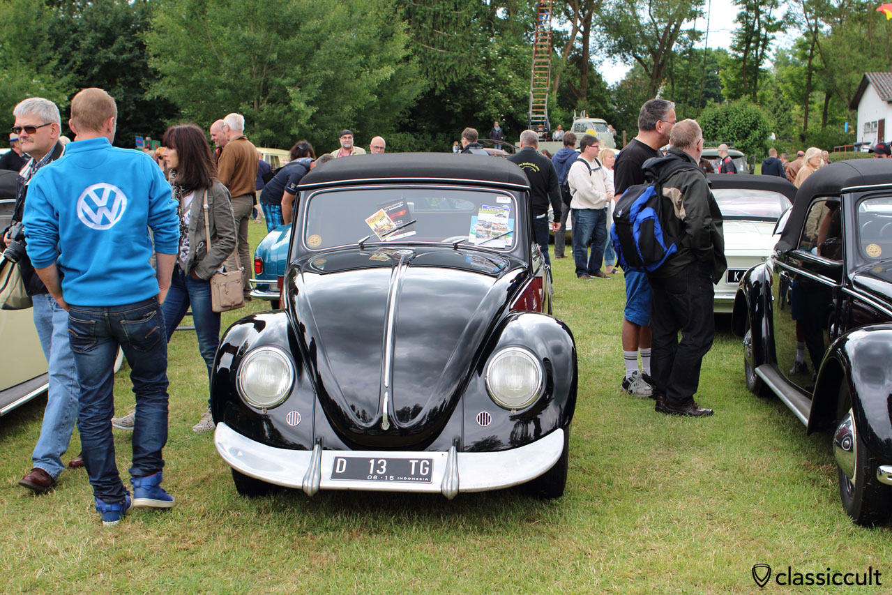 VW Hebmüller from Indonesia Terror Garage, with rare Kamei Aerofix front wing spoiler, Bad Camberg VW Meeting 2015