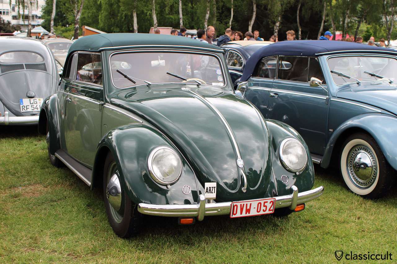 1952 VW Cabriolet with ARZT Badge