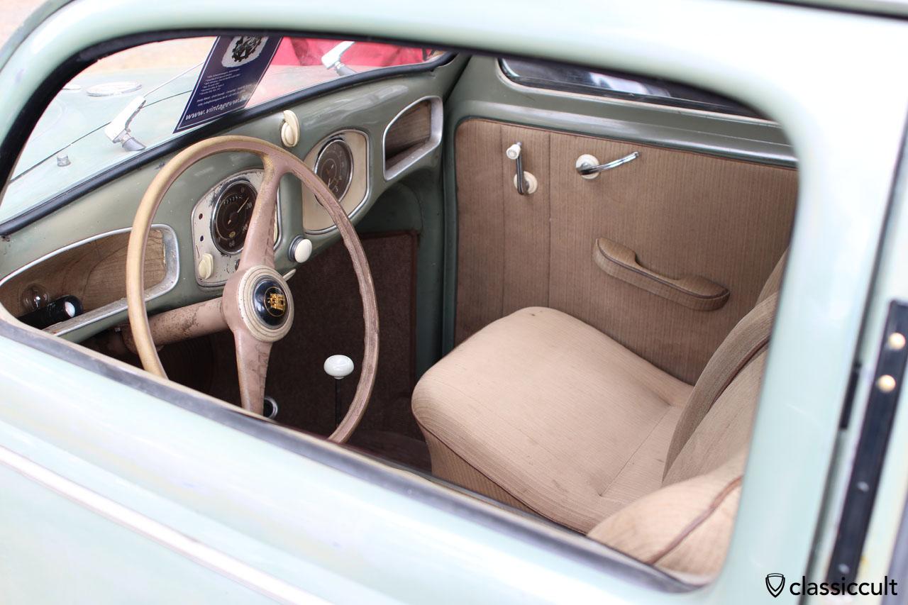 VW Split dashboard with nice patina