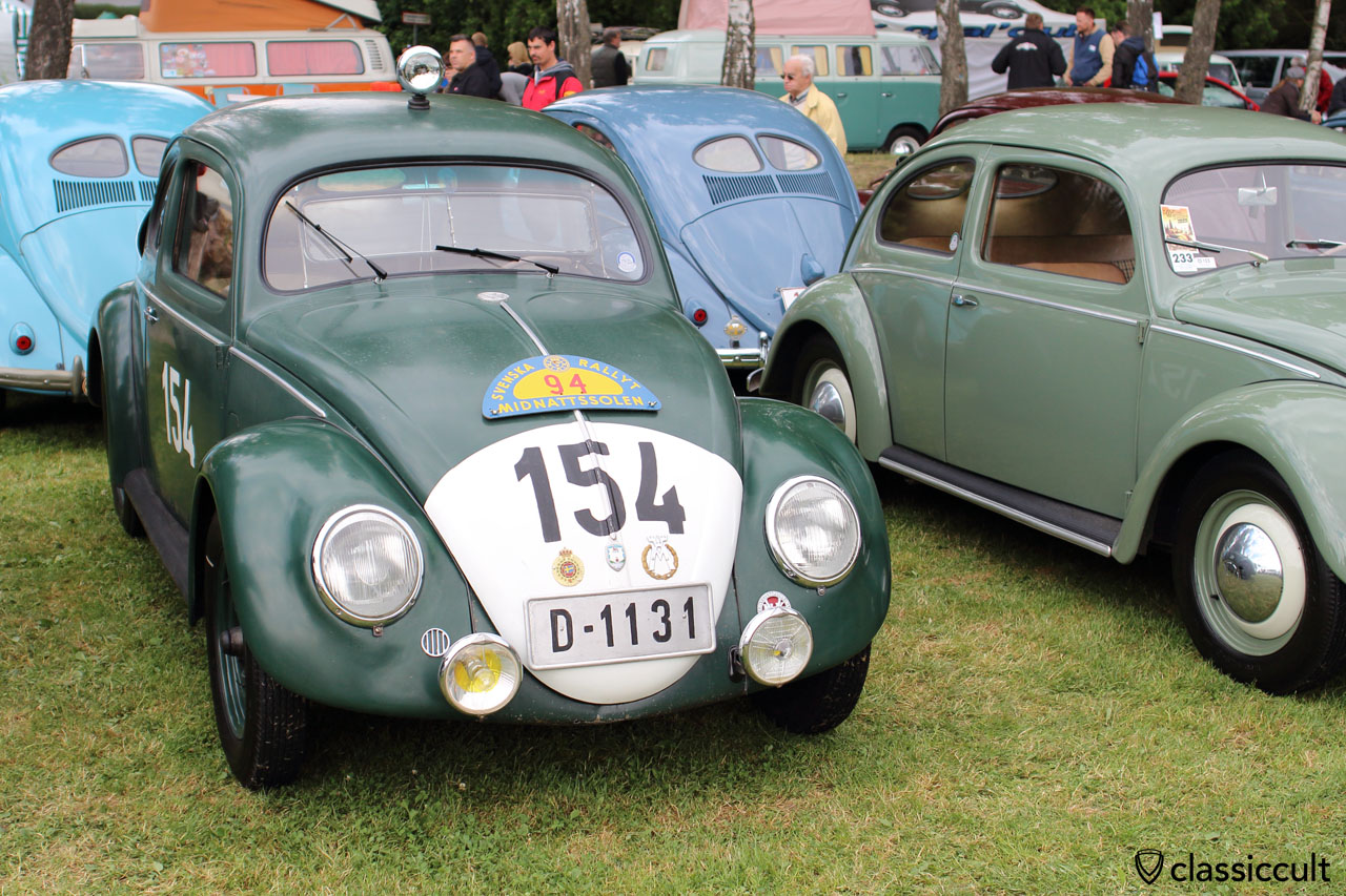 ABARTH VW Split Rally Beetle, front view