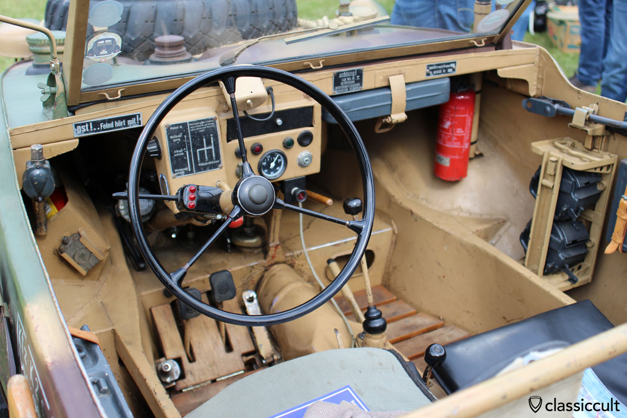 KDF VW, dashboard view