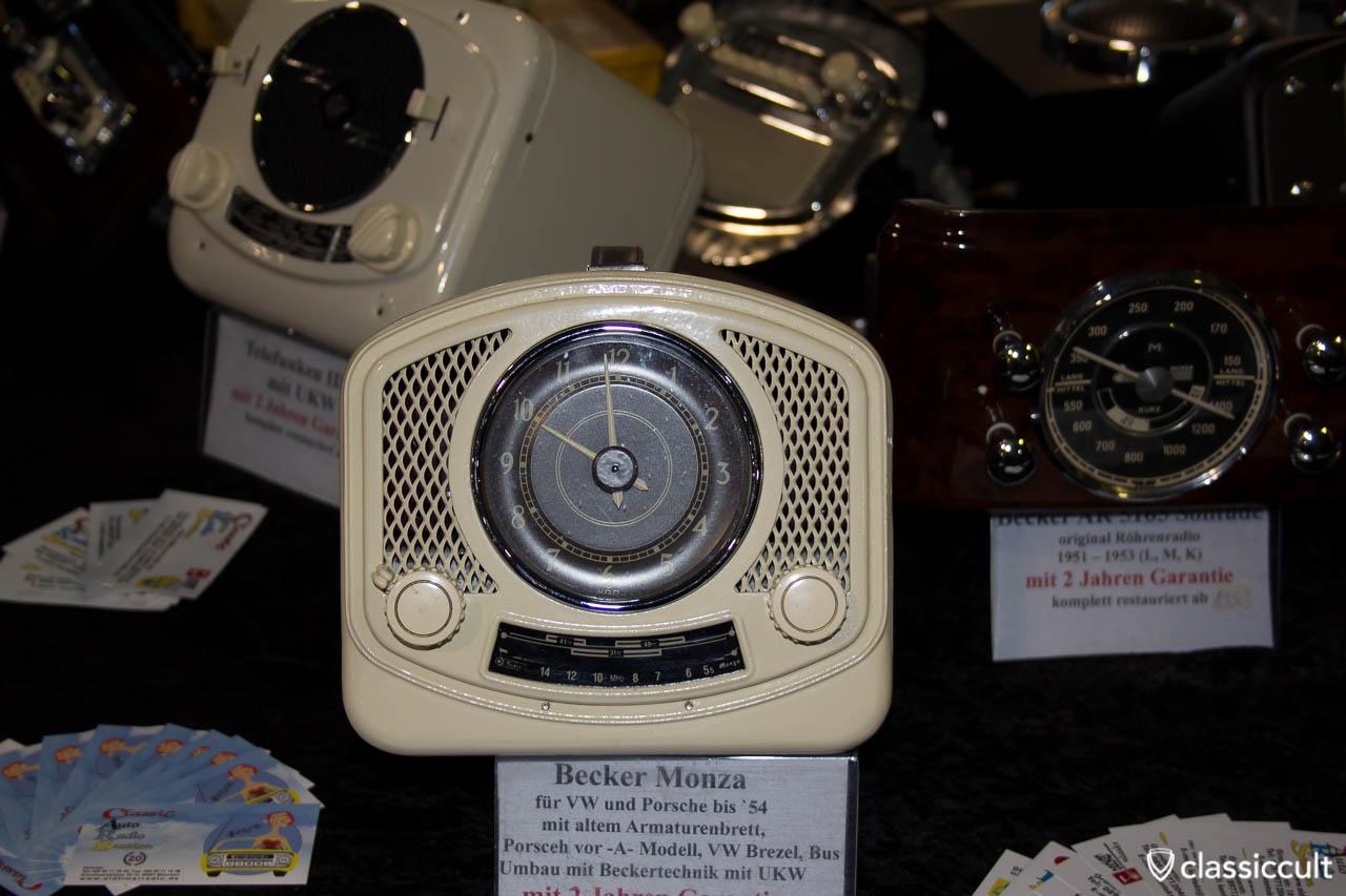 Becker Monza Radio für VW Split und 356a