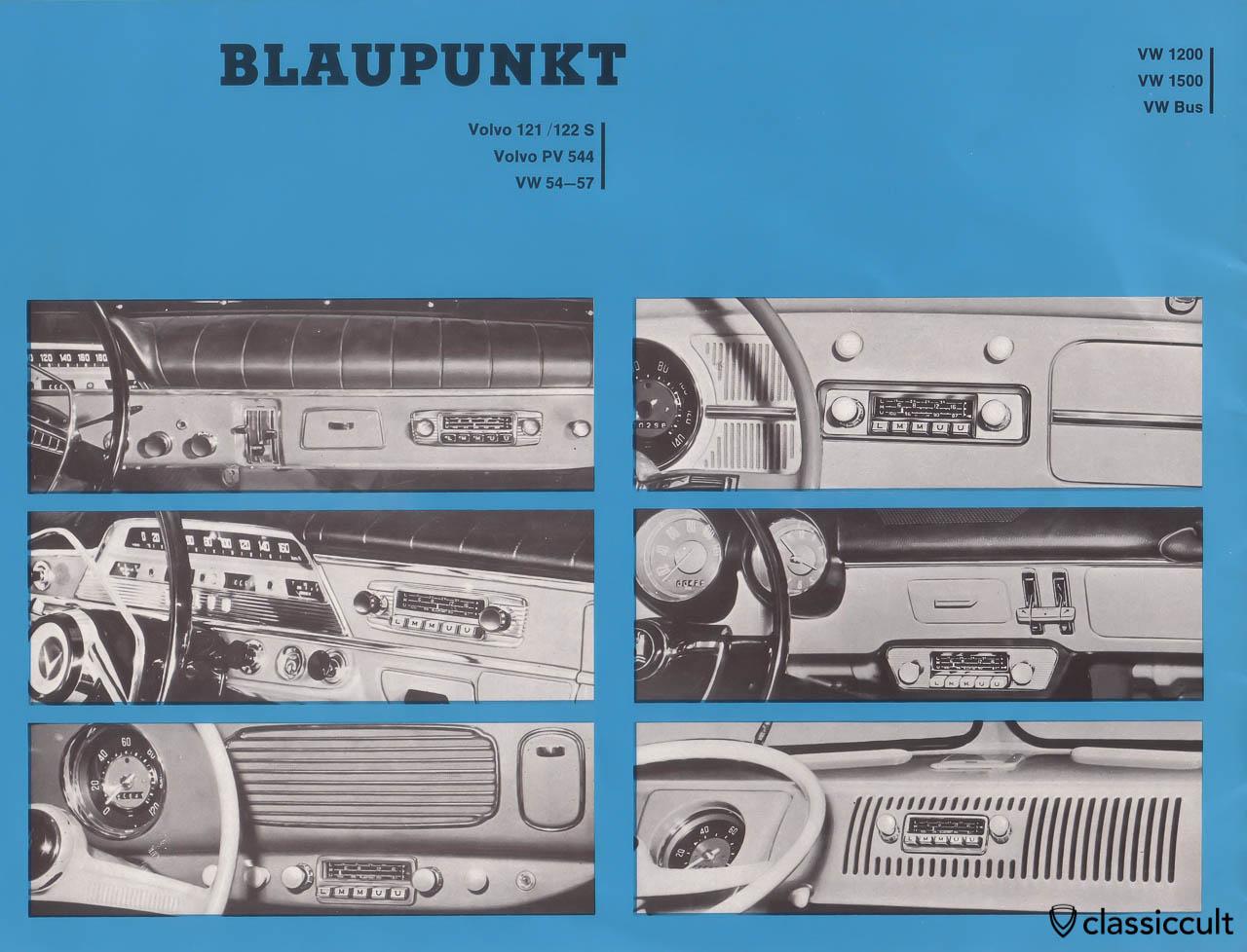 Blaupunkt car radio brochure 1963 classiccult for Porta prospekt hannover