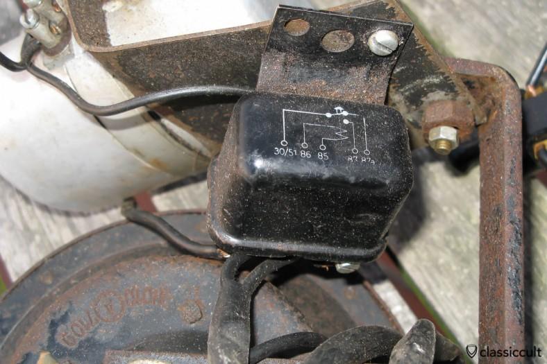 Vintage Bosch 6V Emergency Warning Relay