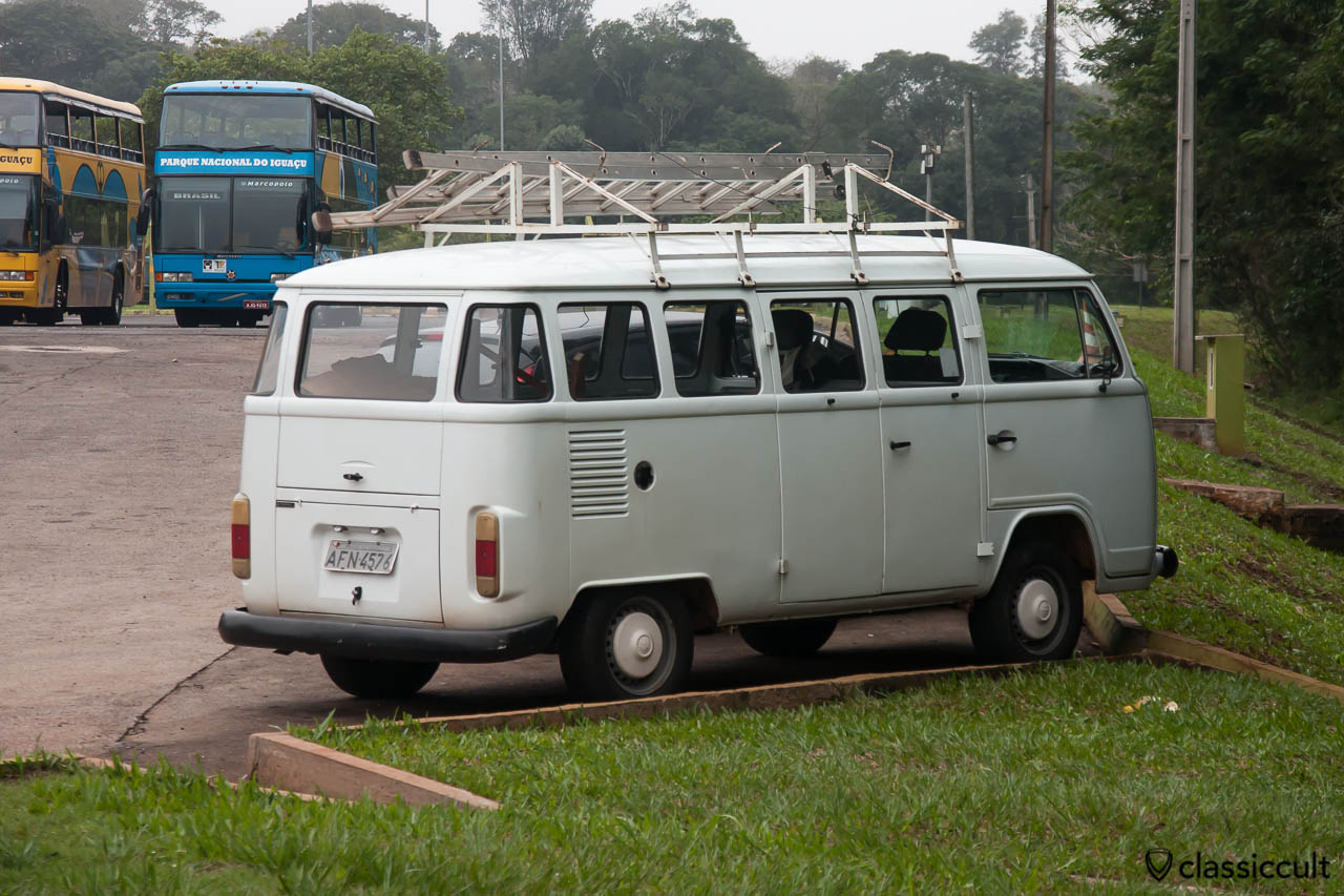 Brazilian VW Bay Bus, Iguazu National Park, Argentina, May 21, 2013