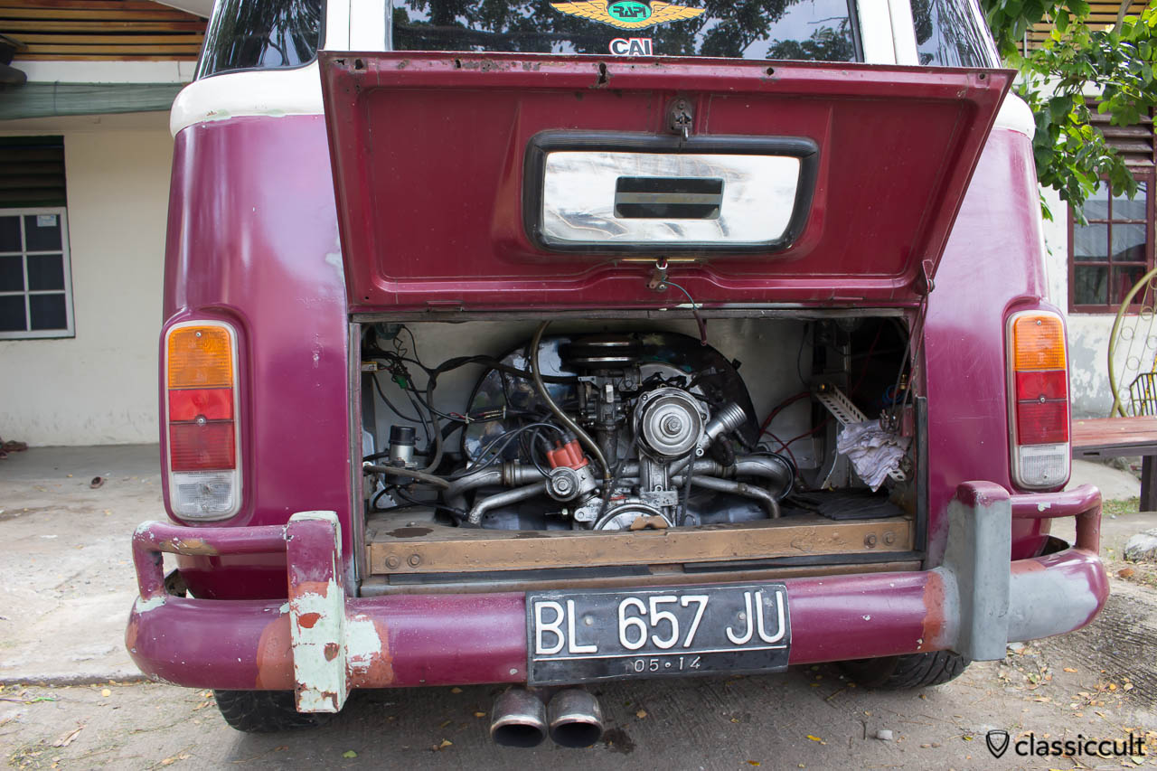 Brazilian VW Bay Bus RAPI Radio Banda Aceh Indonesia