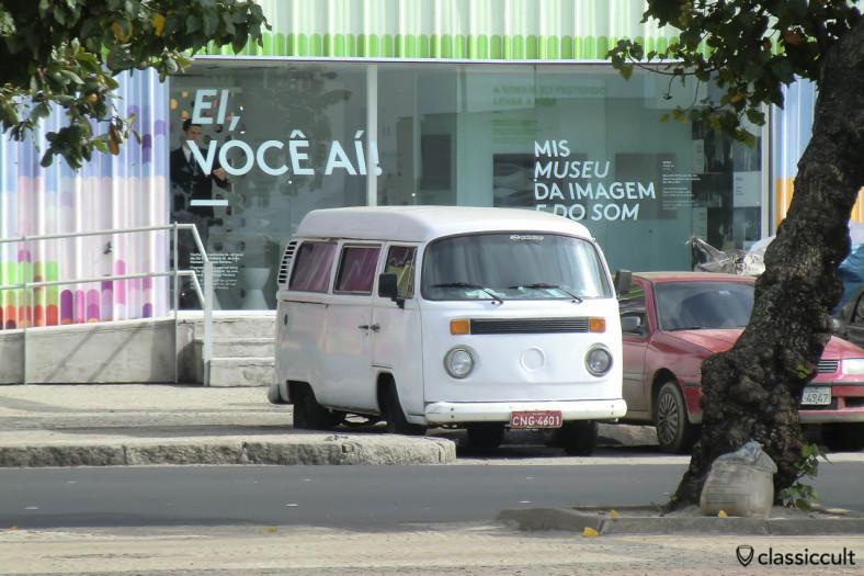 Brazilian VW Bay Window Bus Rio Copacabana, Brazil, May 22, 2013