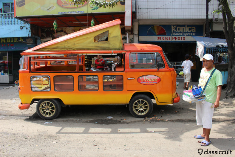 Brazilian VW Bus, Medan, Sumatra, Indonesia, January 15, 2014