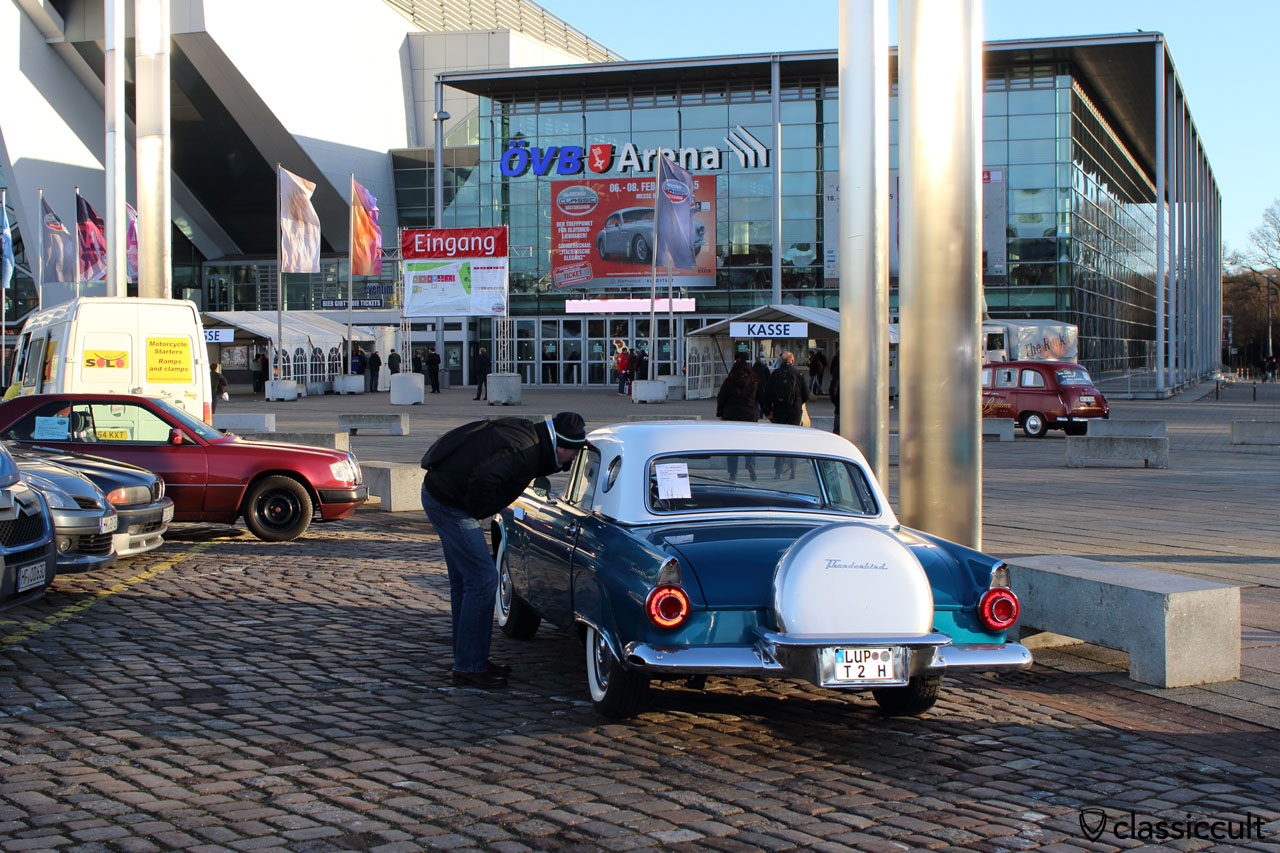 ÖVB-Arena entrance to Bremen Classic Motorshow 2015