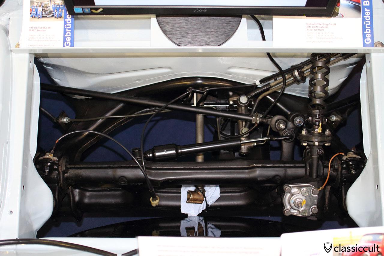 VW Type 3 front axle restoration