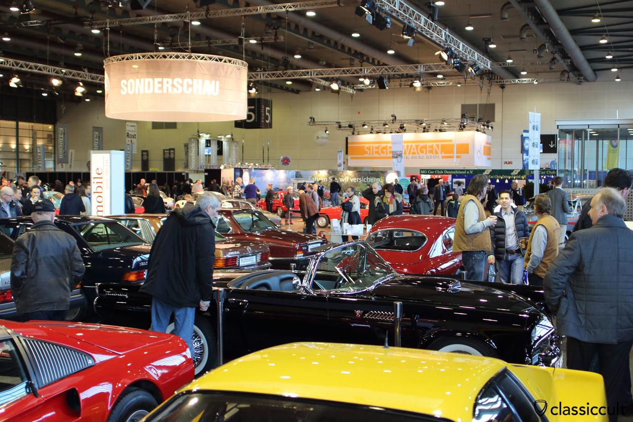 Bremen Classic Motorshow exhibition hall