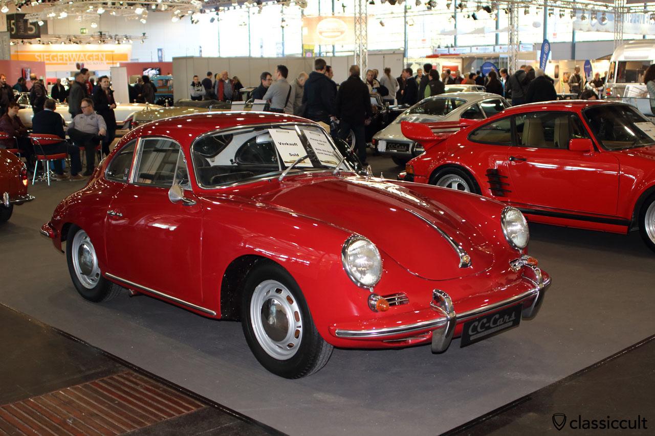 Porsche 356, red
