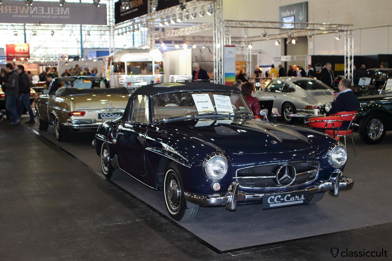 190 SL, blue