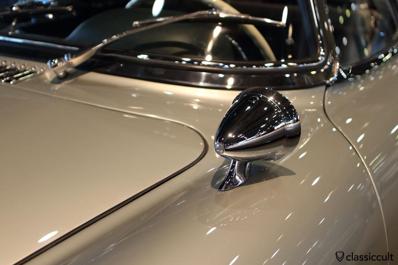 Talbot Berlin mirror mounted at Mercedes 300 SL