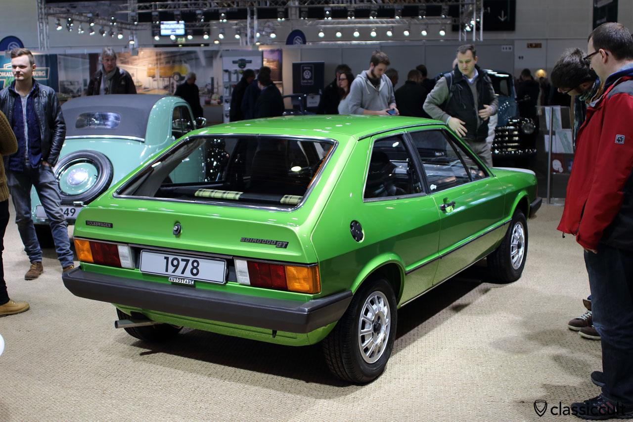 1978 VW Scirocco GT, rear