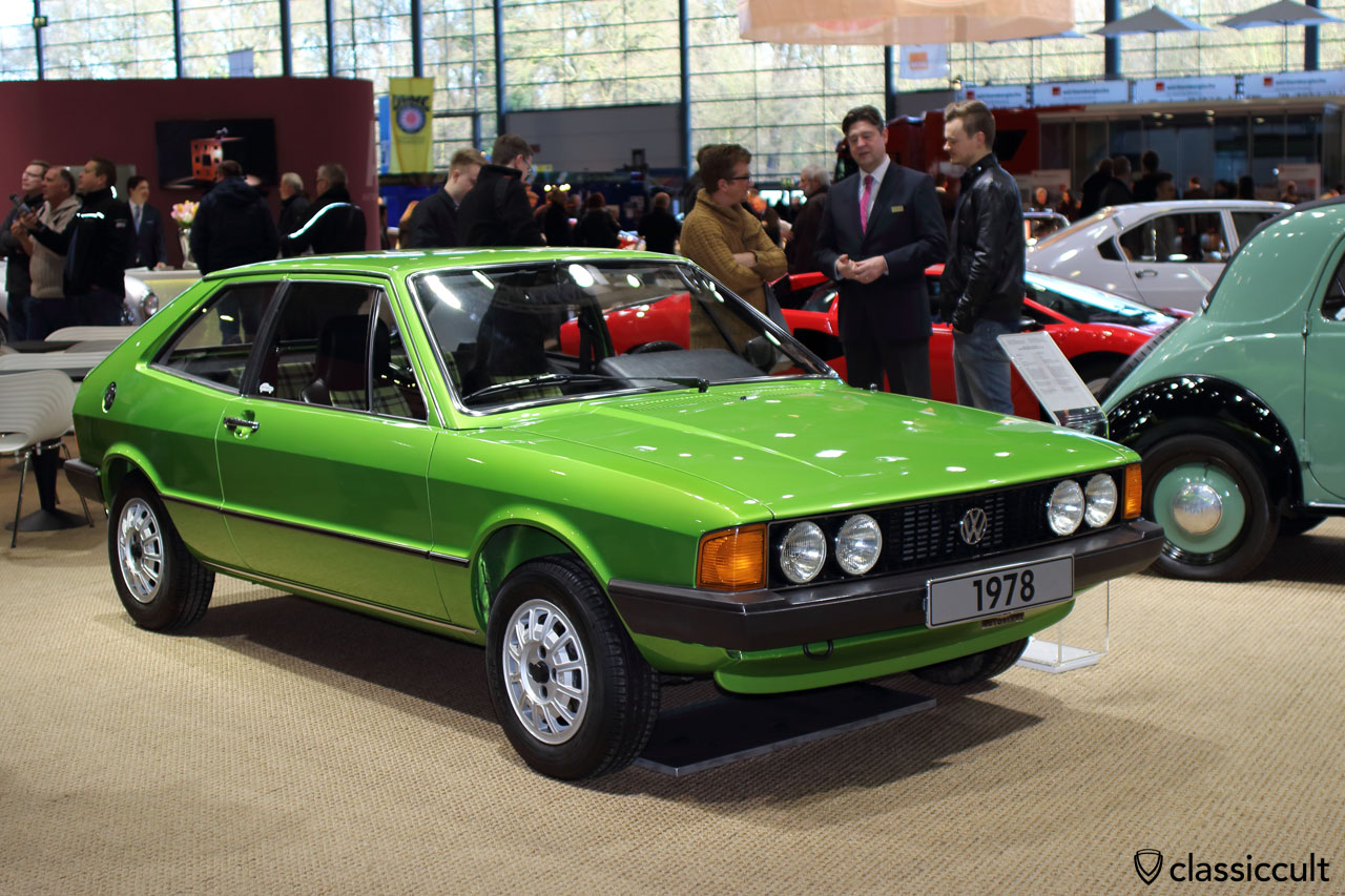 1978 VW Scirocco GT, front