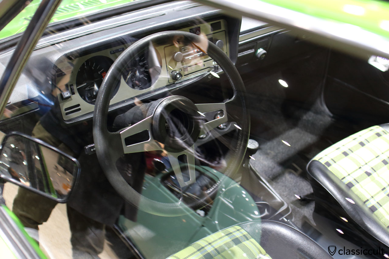 1978 VW Scirocco GT, dashboard