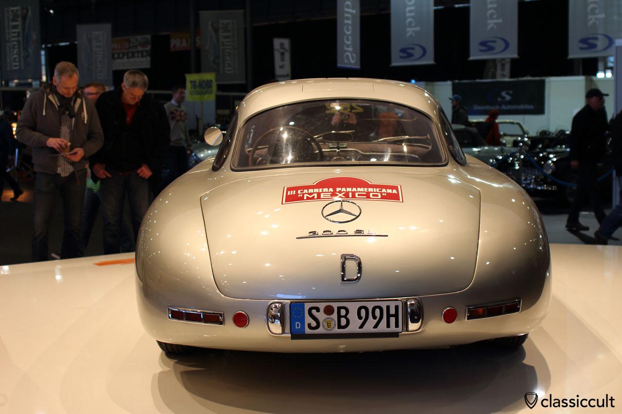 300 SL, rear