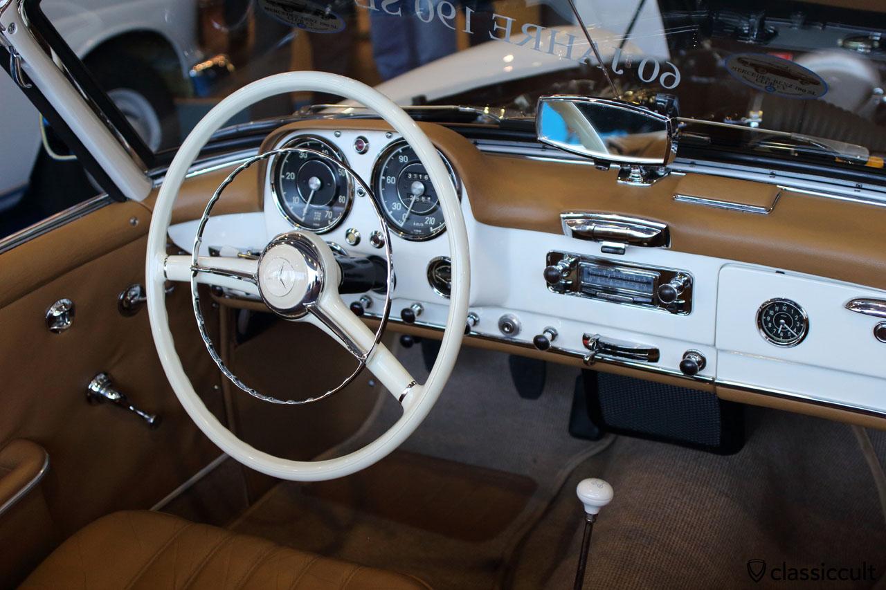 190 SL, dash